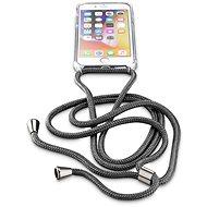 Cellularline Neck-Case s čiernou šnúrkou na krk pre Apple iPhone 6/7/8 - Kryt na mobil