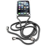 Cellularline Neck-Case s černou šňůrkou na krk pro Apple iPhone 11 Pro