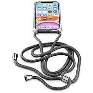 Cellularline Neck-Case s černou šňůrkou na krk pro Apple iPhone 11