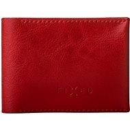 FIXED Smile Wallet so smart trackerom FIXED Smile a motion senzorom, červená - Bluetooth lokalizačný čip