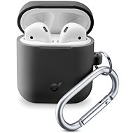 Cellularline Bounce pre Apple AirPods 1 & 2 čierne - Puzdro