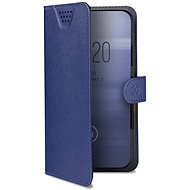 """CELLY Wally One, veľkosť XXL na 5,0"""" – 5,5""""modré - Puzdro na mobil"""