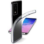 Cellularline Fine pre Samsung Galaxy S20 Ultra bezfarebný - Kryt na mobil