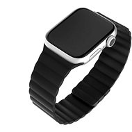 FIXED Silicone Magnetic Strap for Apple Watch 38mm/40mm, Black