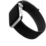 FIXED Nylon Strap pre Apple Watch 44 mm/ Watch 42 mm čierny