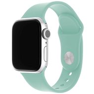 FIXED Silicone Strap SET pre Apple Watch 42/44/45 mm svetlo zelený