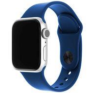 FIXED Silicone Strap SET pre Apple Watch 42/44/45 mm kráľovsky modrý