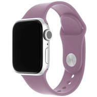 FIXED Silicone Strap SET pre Apple Watch 38/40/41 mm svetlo fialový