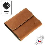 FIXED Smile Classic Wallet se smart trackerem FIXED Smile PRO hnědá