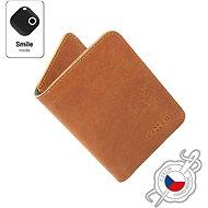 FIXED Smile Wallet XL se smart trackerem FIXED Smile PRO hnědá
