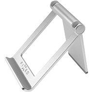 FIXED Frame Tab na stôl pre mobilné telefóny a tablety strieborný - Stojanček