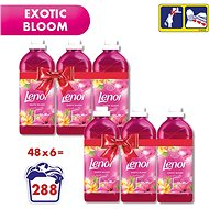 LENOR Exotic Bloom 6× 1,42 l (288 praní) - Aviváž