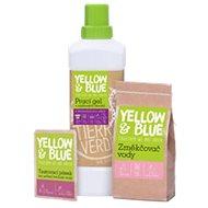YELLOW & BLUE Lavender washing gel 1 l, water softener 250 g, test strip - Eco-Friendly Gel Laundry Detergent