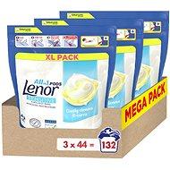 LENOR Sensitive 3 × 44 pcs - Washing Capsules
