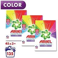 ARIEL Color 3× 3,375 kg (135 praní)