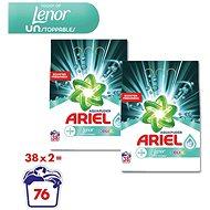 ARIEL Touch of Lenor Unstoppables 2× 2,85 kg (76 praní) - Prací prášok