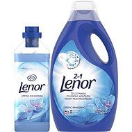 LENOR Spring Awakening prací prostriedok 2,2 l (40 praní) + aviváž 930 ml (31 praní) - Sada drogérie