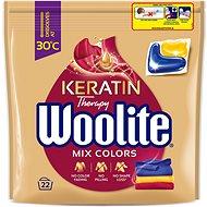 WOOLITE Color s keratínom, 22 ks - Kapsuly na pranie
