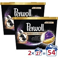 PERWOLL Renew & Care, Black, 2× 27 ks - Kapsuly na pranie