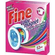 Well Done Fine Stain Absorbing Wipes 12 pcs - Washing Machine Sheets