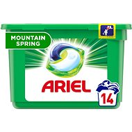 ARIEL Mountain Spring 3in1 14 ks (14 praní) - Kapsuly na pranie