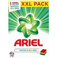 ARIEL Whites & Colors 5,25 kg (70 praní) - Prací prášok