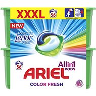ARIEL Touch of Lenor 3in1 56 ks - Kapsuly na pranie