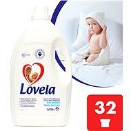 LOVELA Gél Biela 3 l (32 praní) - Tekutý prací prostriedok