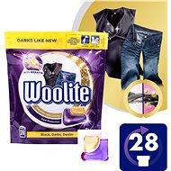 WOOLITE Dark, Black & Denim 2in1 28 ks - Kapsuly na pranie
