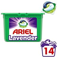 ARIEL Lavender Fresh 3v1 14 ks - Kapsuly na pranie