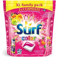 SURF Color Tropical 2in1 42 ks (42 praní) - Kapsuly na pranie