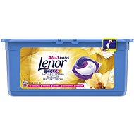 LENOR Silk Orchid 3in1 28 ks - Kapsuly na pranie