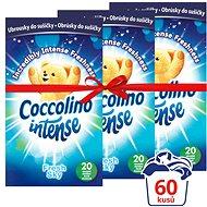 COCCOLINO Intense Fresh Sky 3× 20 ks - Obrúsky do sušičky