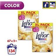 LENOR 2 v 1 Gold Orchid Color 2× 5,025 kg (134 praní) - Prací prášok