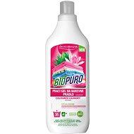 BIOPURO Organický tekutý prací gél na farebnú bielizeň 1 l (35 praní) - Ekologický prací gél