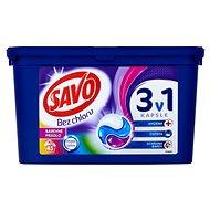SAVO Farebná bielizeň 3in1 45 ks - Kapsuly na pranie