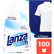 LANZA Expert Biela 7,5 kg (100 praní) - Prací prášok