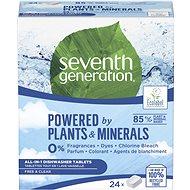 SEVENTH GENERATION AiO Free & Clear 24 tabliet - Ekologické tablety do umývačky