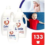 LOVELA Gigapack Color 9,4 l (133 praní)  + aviváž - Tekutý prací prostriedok