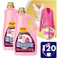 WOOLITE Delicate & Wool 2× 3,6 l (120 praní) - Prací gél