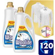 WOOLITE Extra White Brillance 2× 3,6 l (120 praní) - Prací gél