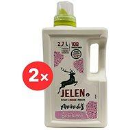 JELEN Aviváž orgovánová 2× 2,7 l (216 praní) - Ekologická aviváž