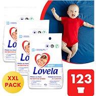 LOVELA Baby for coloured laundry 3 × 4.1 kg (123 washes) - Detergent