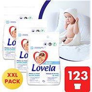LOVELA Baby for white laundry 3 × 4.1 kg (123 washes) - Detergent