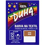 DUHA farba na textil hnedá 15 g - Farba na textil