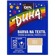 DUHA farba na textil svetlo béžová 15 g - Farba na textil
