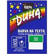 DUHA farba na textil zelená 15 g - Farba na textil