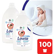 LOVELA Baby na bielu bielizeň 2× 4,5 l (100 praní)