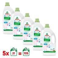 FROSCH Baby for Baby Laundry 5× 1.5l (105 Washings) - Eco-Friendly Gel Laundry Detergent