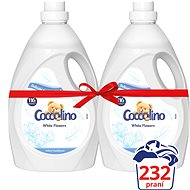 COCCOLINO White Flowers 2×2.9l (232 washes)